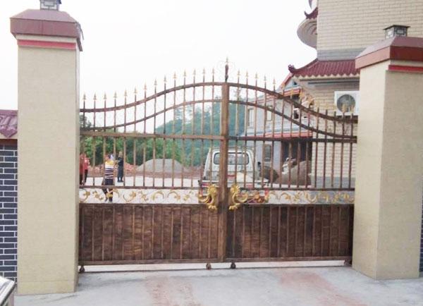 庭院铁艺大门