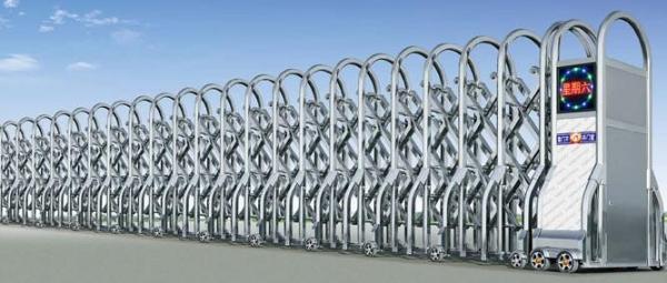不锈钢伸缩电动门实际应用存在的优势