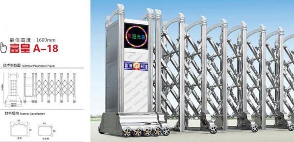 为人们创造诸多的益处的电动伸缩门