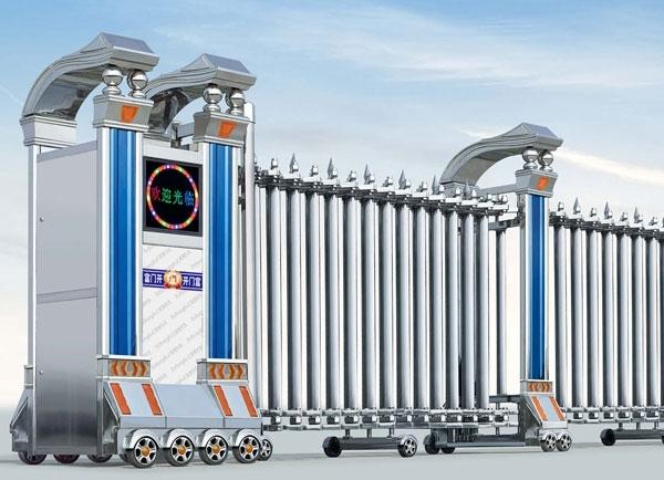 泸州电动伸缩门厂家:电动伸缩门遥控器的拷贝方式