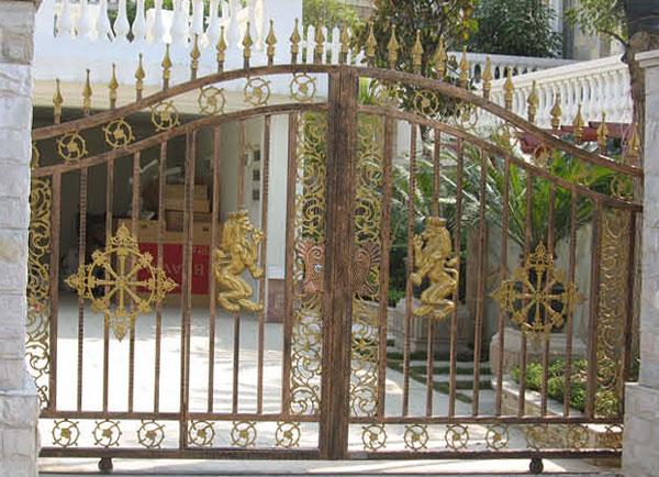 庭院铁艺门