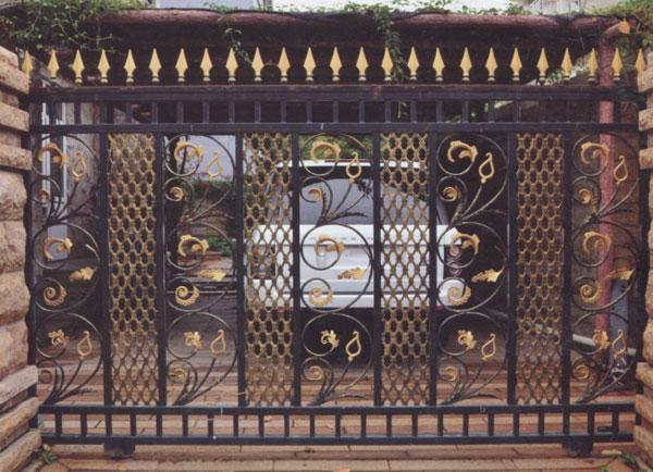 欧式铁艺庭院大门