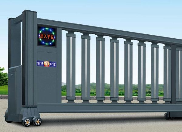 自贡电动分段平移门