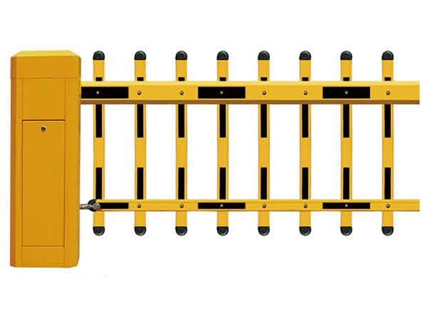 单层栅栏道闸
