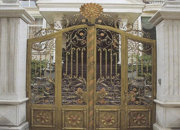 欧式庭院铁艺大门