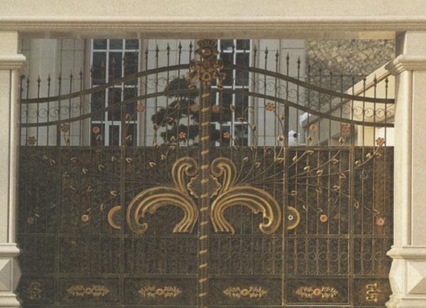 庭院防盗铁艺门