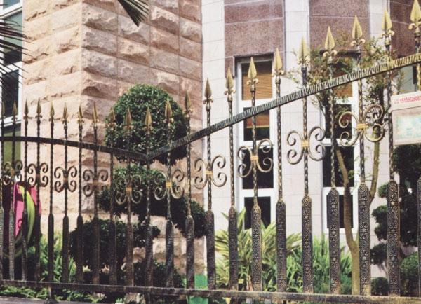 别墅庭院防护栅栏