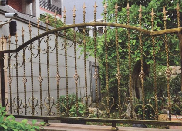花园铁艺防护栏杆