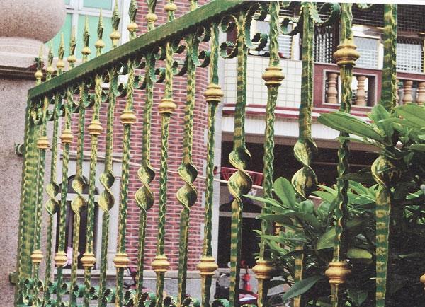 自贡户外铁艺防护栏杆
