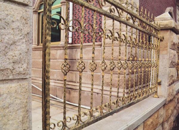 庭院围墙栅栏铁栏杆