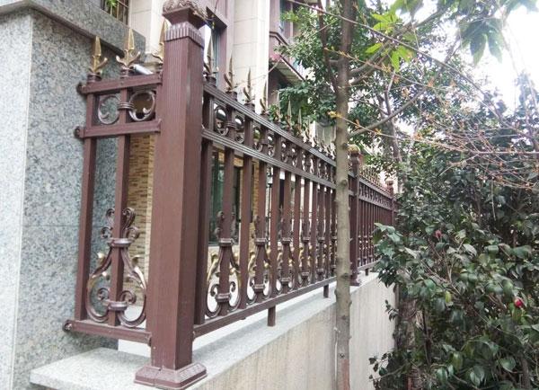 户外铝艺防护栏杆
