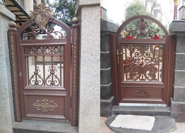 自贡庭院铝艺小门